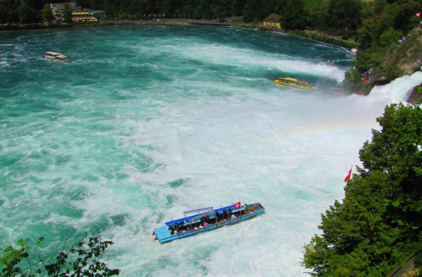 The sound of water – Rhine Falls in Switzerland!