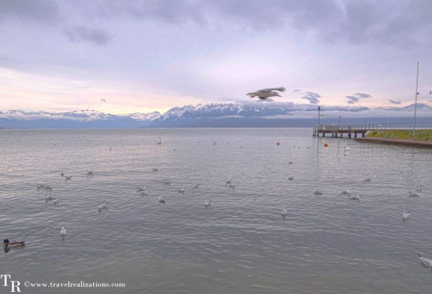 A voyage across lake Geneva, Travel Realizations, Switzerland