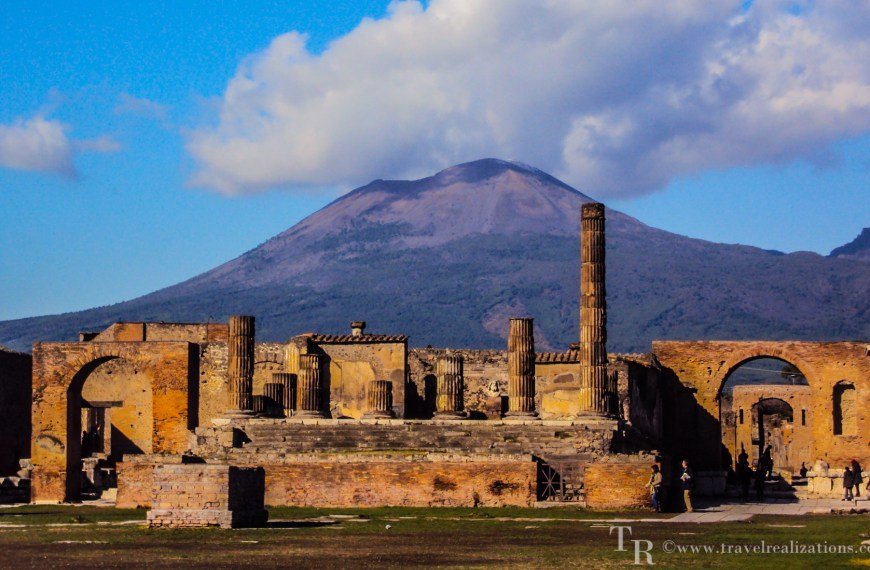 Exploring the threshold of death -Mount Vesuvius!