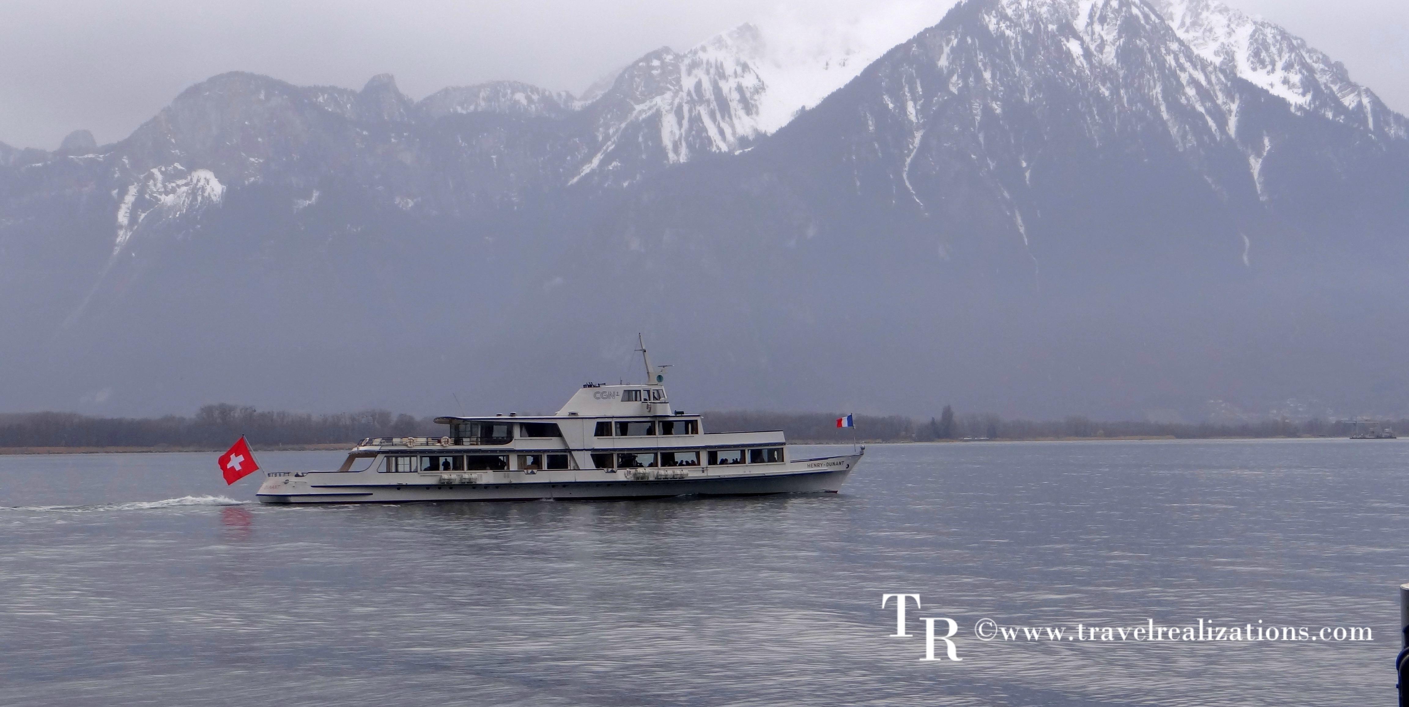 A voyage across lake Geneva!