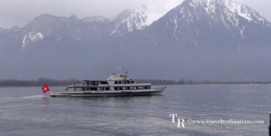 A voyage across lake Geneva.