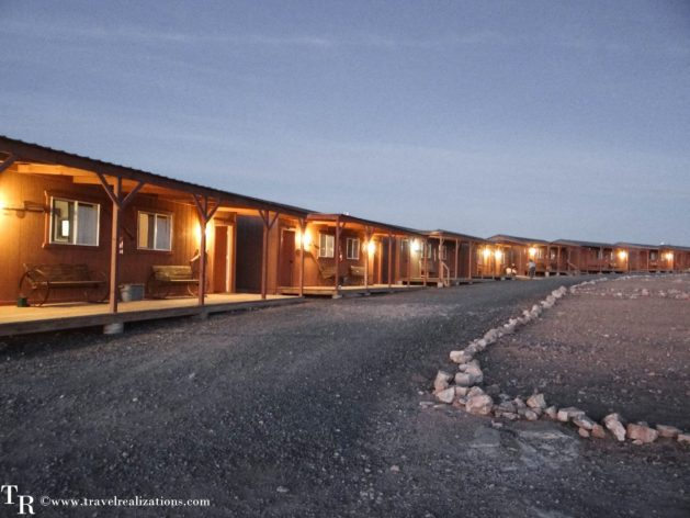 Travel Realizations, Hualapai Ranch, Grand Canyon, Hualapai Lodge, Cabins