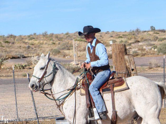 Travel Realizations, Hualapai Ranch, Grand Canyon, Hualapai Lodge, cow boy