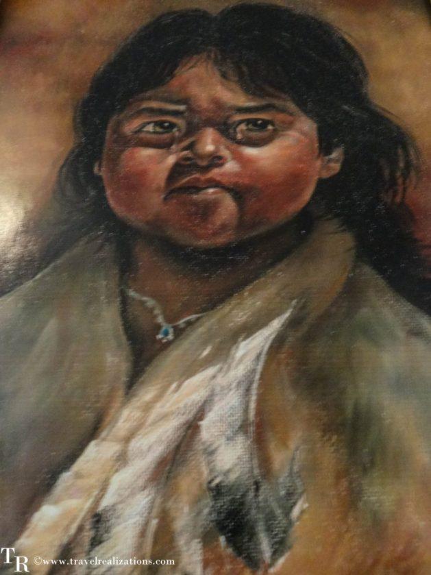Travel Realizations, Hualapai Ranch, Grand Canyon, Hualapai Lodge, American Indian painting