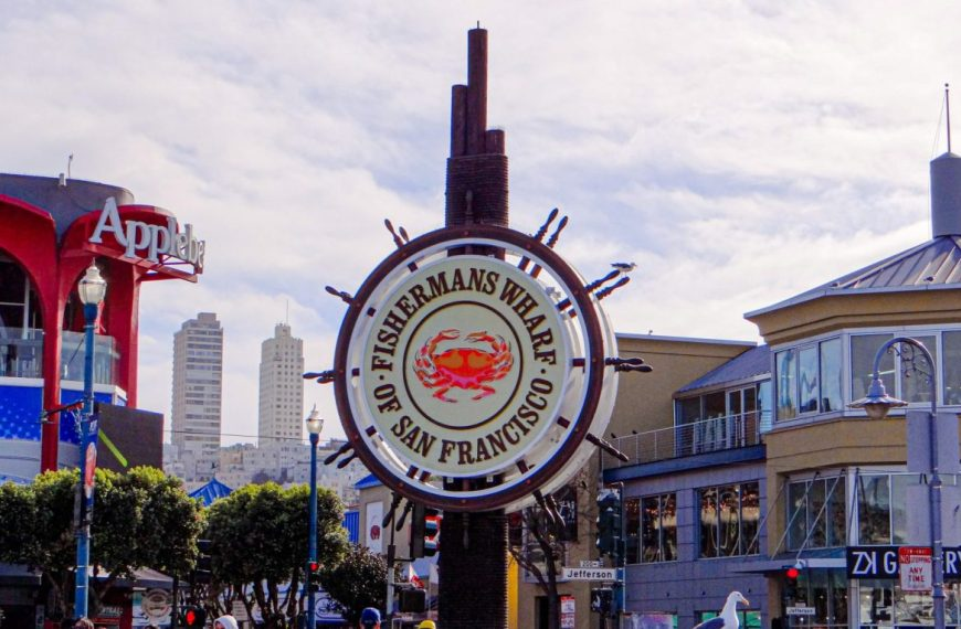 Fisherman's Wharf at San Francisco, California, USA