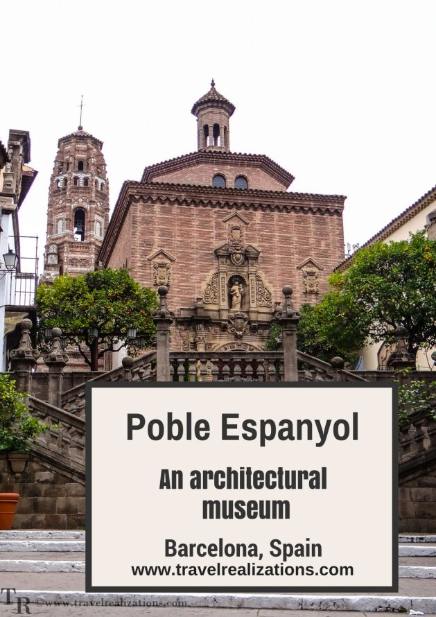Poble Espanyol is a small village which portrays architecture of various Spanish areas and the cultural diversity of the country. #Spain #Barcelona #Travel #Traveltips #Travelblog