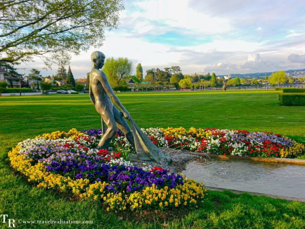 A journey with Jane Austen along the shores of Lake Geneva, Switzerland, Travel Realizations