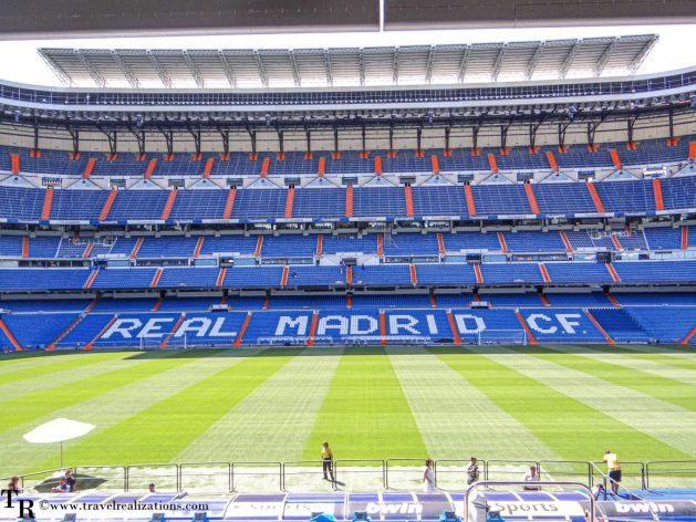 Santiago Bernabeu Stadium - The home of Real Madrid, Travel Realizations