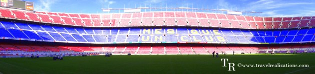 Camp Nou Stadium – The home of Football Club Barcelona!