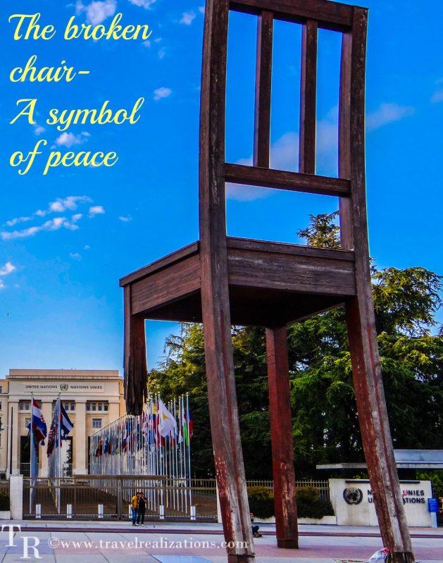Travel Realizations, Broken Chair, Geneva