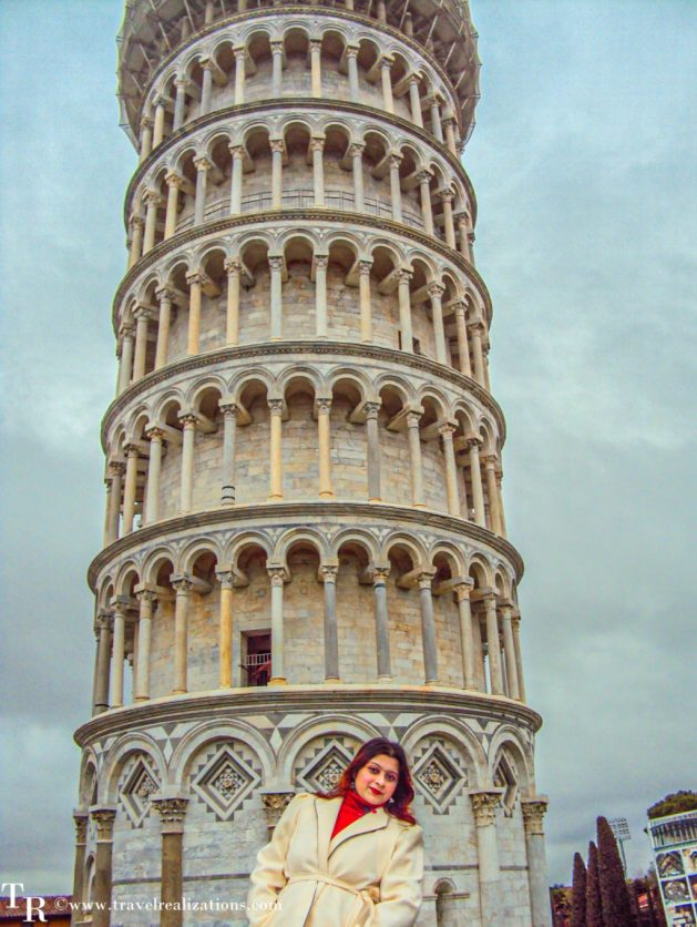 Leaning Tower of Pisa, Italy, Christmas day, Travel Realizations
