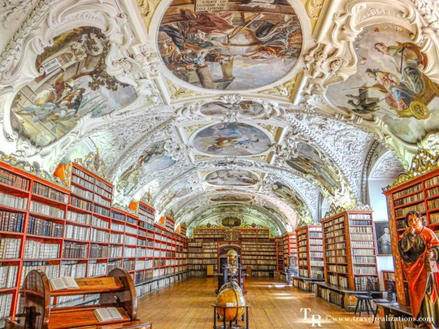 The Library of Strahov Monastery in Prague, Czech Republic - One of the world's most beautiful libraries, Travel Realizations