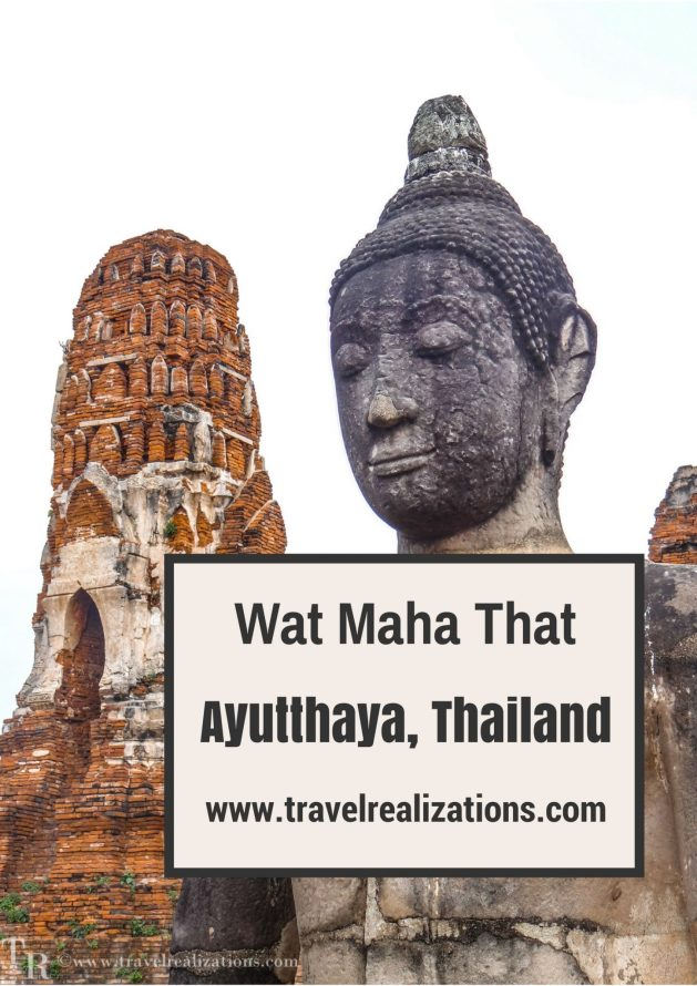 Explore the Wat MahaThat at Ayutthaya inThailand - once an important center of global diplomacy-now an archeological ruin, which has liberated time. #Thailand #Bangkok #Travel #Ayutthaya #Buddha #TravelBlog