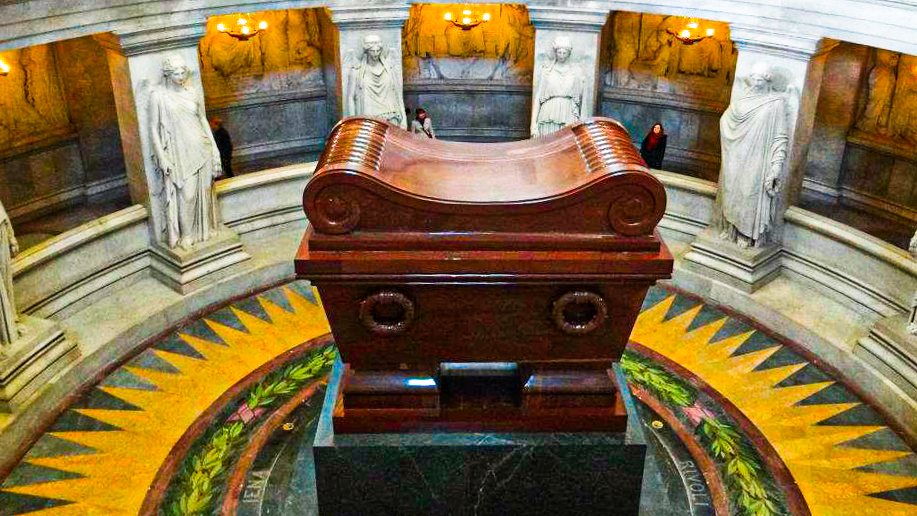 The tomb of Napoleon Bonaparte - A winner of many battles in Paris, France!
