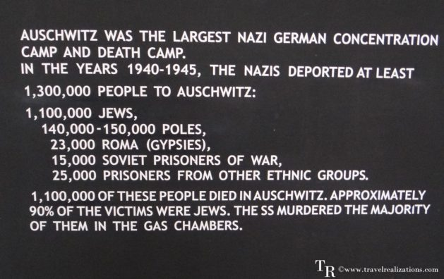 The concentration camp in Auschwitz, Poland - A vast factory of murder, Travel Realizations
