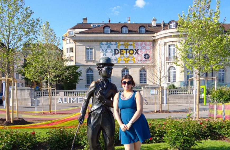 A Rendezvous with Charlie Chaplin in Vevey, Switzerland