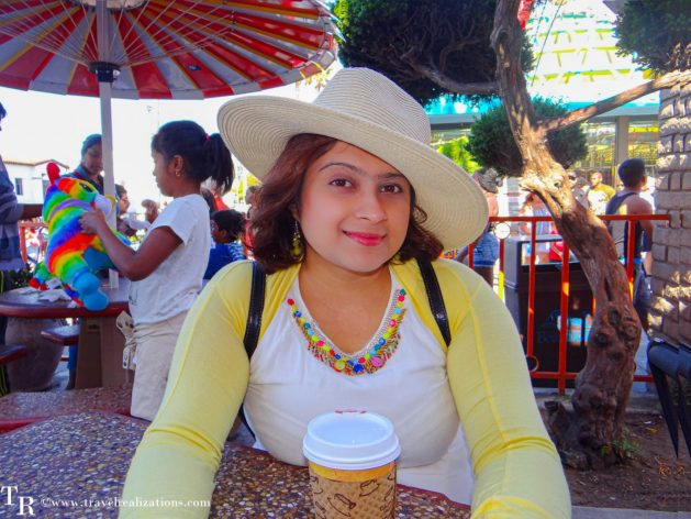 A Coffee cup and a story in Santa Cruz California, Travel Realizations