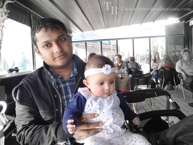 Chirantana and her father