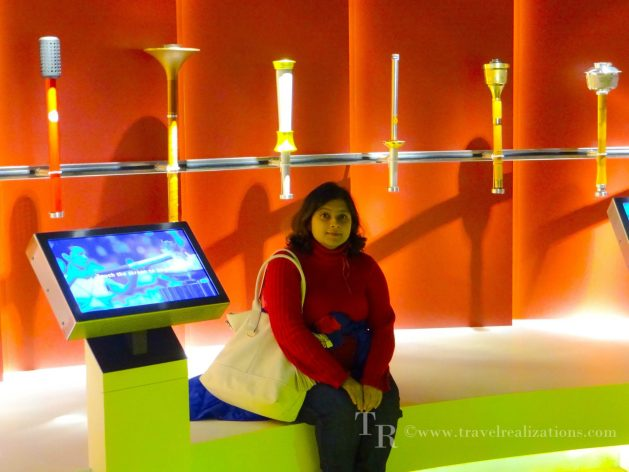 Myself, inside the olympic museum