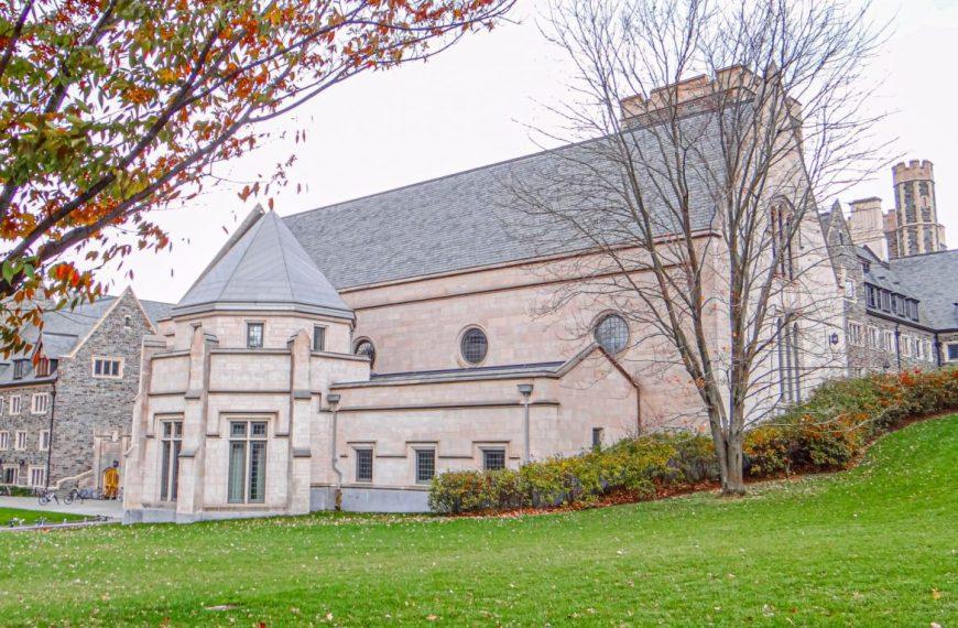 Fall Foliage in Princeton University Campus