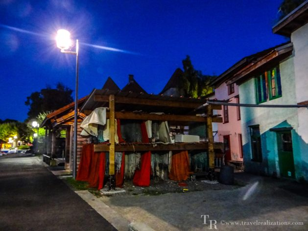 Thonon, France, Travel Realizations, A fishing village