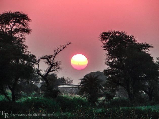 Travel Realizations, Sunsets, Madhyapradesh