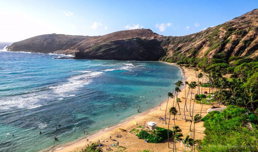 Travel realizations, Hanauma Bay, Hawaii