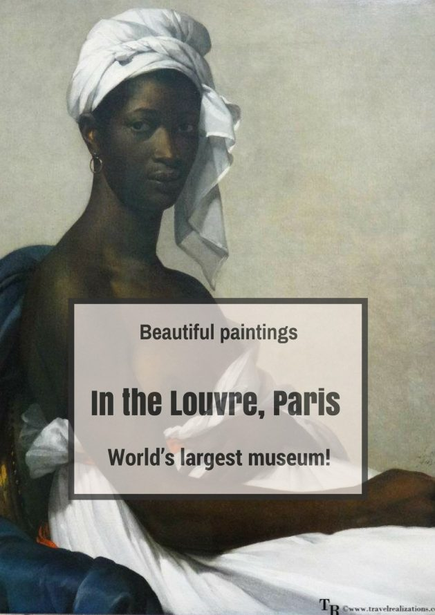 When I looked at the paintings in Louvre, the world's largest museum, I was stunned into an uncharacteristic silence by their beauty. #Paris #Paintings #Louvre #Travel #TravelTips #France #TravelBlog