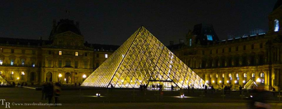 Travel Realizations, Paintings in Louvre, Paris