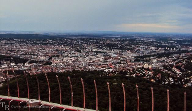 Stuttgart TV tower, Travel Realizations