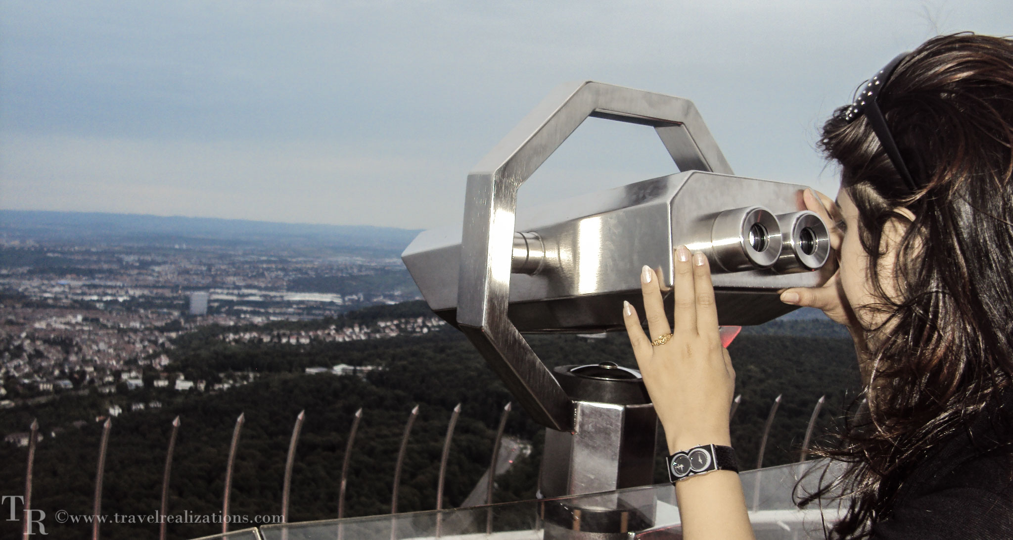 Stuttgart TV Tower - The world's first TV tower built in concrete in Germany!
