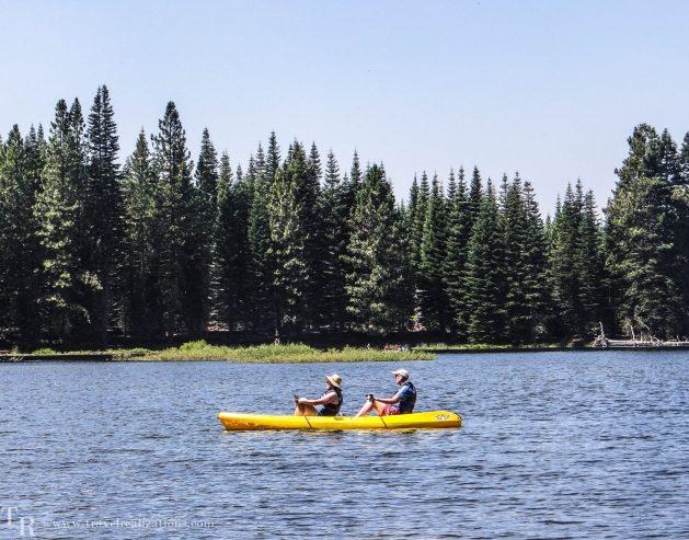 Glimpses of romantic California, Travel Realizations, Manzanita Lake