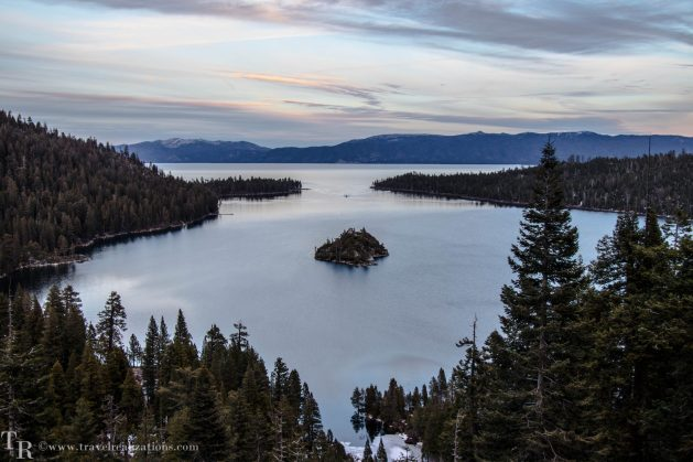 Glimpses of romantic California, Travel Realizations, Lake Tahoe