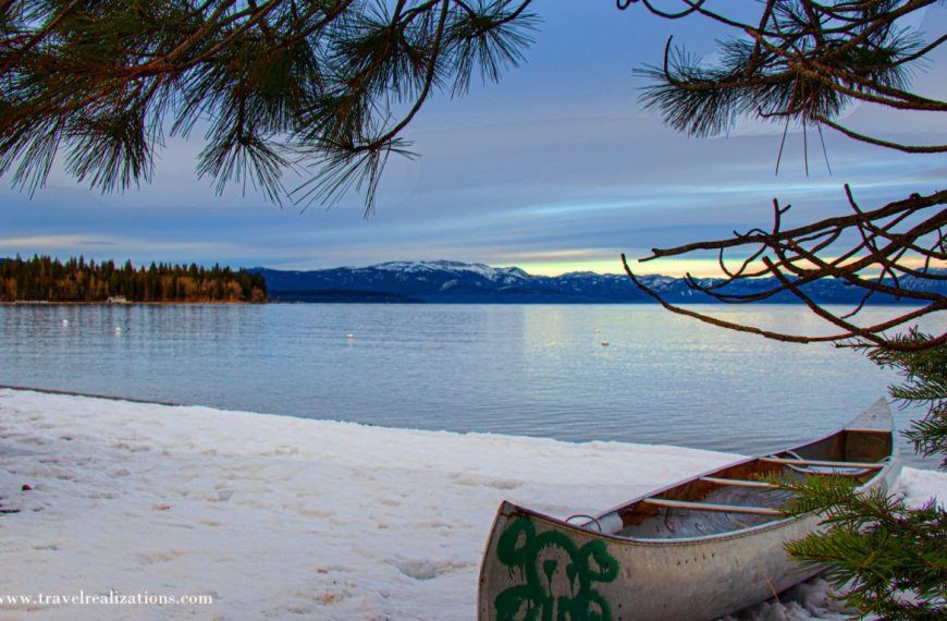 Lake Tahoe, the largest alpine lake in North America!
