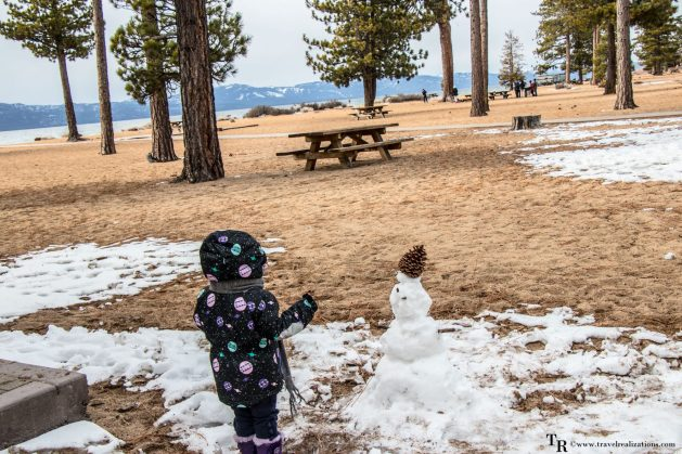 Beautiful Lake Tahoe, the largest alpine lake in North America, Travel Realizations, Glimpses of Romantic California