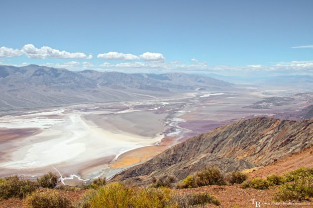 Death Valley - A water-less wonder in ten photos, Travel Realizations, Photo Essay, Death Valley, Dante's View