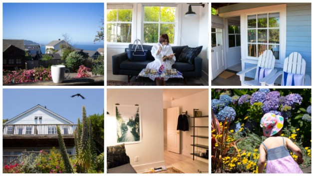 JD House - A beautiful boutique hotel in blooming Mendocino, California, JD House, USA, garden, garden in JD House. Patio