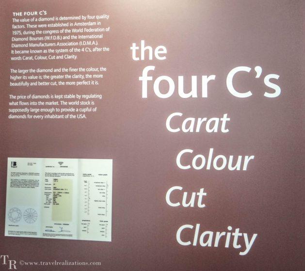 The story of Diamond in Amsterdam Diamond Museum, Travel Realizations