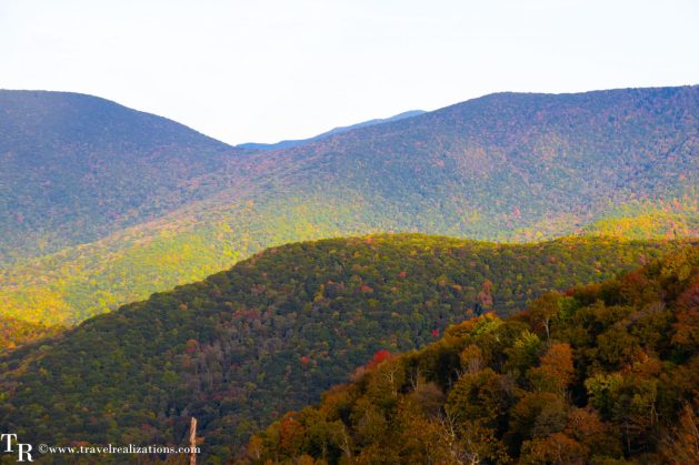 The Blue Ridge Parkway - A passage through paradise, Travel Realizations, USA, North Carolina, Blue Ridge Mountains, fall colors, autumn