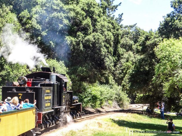 Easy Day Trips from San Francisco - A local's guide, Steam Train Ride at Roaring Camp Railways
