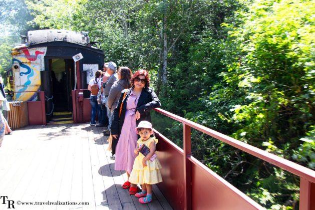 Beautiful steam train rides near San Francisco, Travel Realizations, Skunk Train, Mendocino