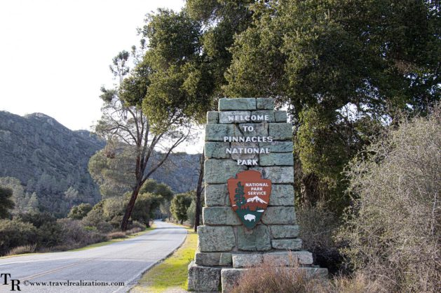 Postcards from Pinnacles National Park, Travel Realizations, Entrance gate to Pinnacles
