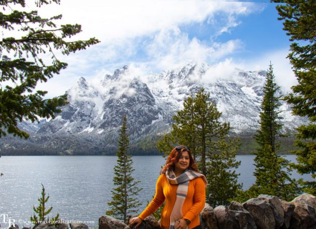 A soliloquy of a sojourner, Travel Realizations, Jenny Lake, Grand Teton National park