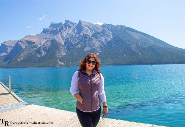 A cruise on Lake Minnewanka in Banff, Canada, Travel Realizations, pursuitbanffjasper, ChirasreeinCanada, Chirasree