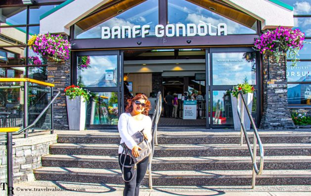Canadian Rockies from Banff Gondola, Travel Realizations , things to do in Banff