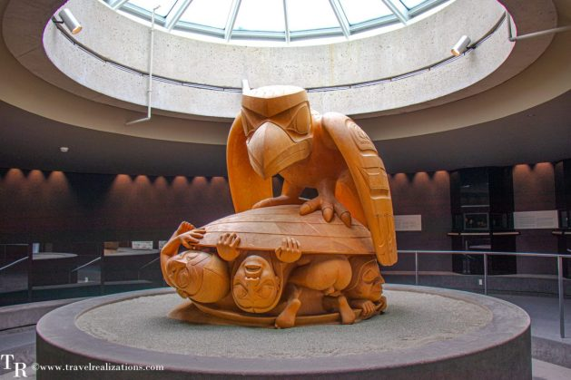 Beautiful Vignettes of  Vancouver, Travel Realizations, The Museum of Anthropology