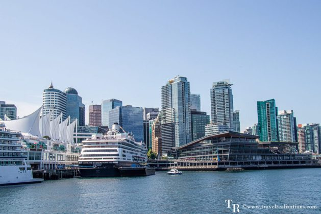 Beautiful Vignettes of  Vancouver, Travel Realizations, Vancouver Harbour Cruise