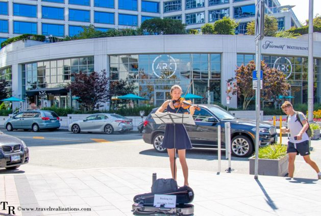 Beautiful Vignettes of  Vancouver, Travel Realizations, Canada Place,