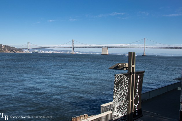 Exploratorium in San Francisco - when the destination is science, Travel Realizations , The views of the San Francisco bay from the Exploratorium are spectacular.