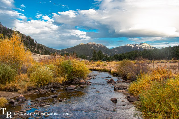 Fall colors in Rocky Mountain National Park, Sprague Lake, Travel Realizations
